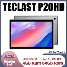 Teclast P20HD 4G Phone Call Tablets Octa Core 10 1 inch IPS 1920 1200 4GB RAM