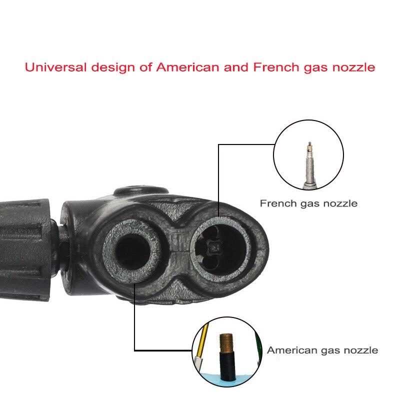 Купить насос велосипедный бытовой многофункциональный портативный измеритель