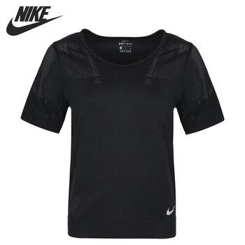 Original New Arrival  NIKE AS W NK INFINITE TOP SS 2 Women's  T-shirts short sleeve Sportswear 1
