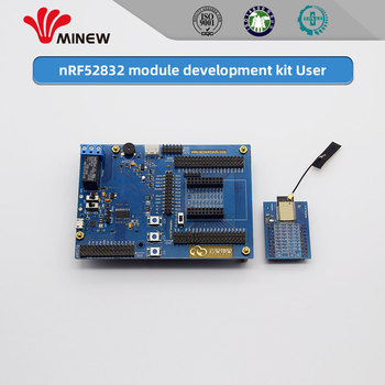 BQB,FCC,CE,TELEC,WPC certified nRF52832 module Minew MS50SFB2 Development kit Evaluation kit Simple version