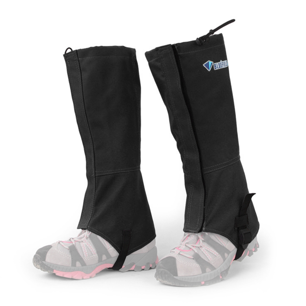 L Waterproof High Legging Gaiters Boot Cover Walking Hiking Hunting Climbing