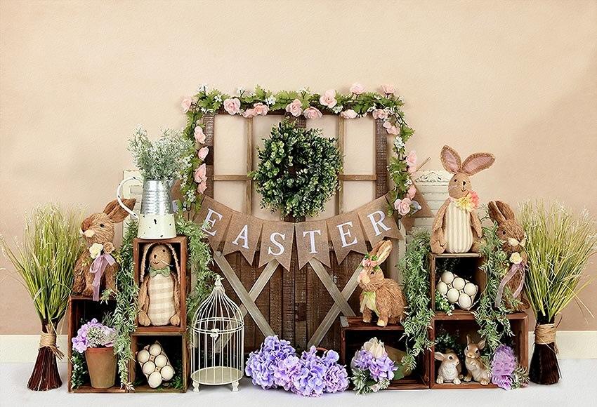 Купить mehofond кролик 1st день рождения фон для фотосъемки с изображением