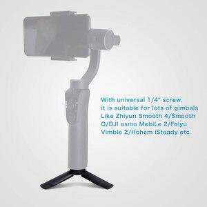 Image 5 - Duszake מיני חצובה עם Bluetooth מרחוק תריס עבור IPhone Huawei מיני טלפון חצובה 360 מסתובב טלפון מחזיק קליפ Stand