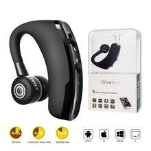 V9 Bluetooth 4.1 Headset Sports Headphone Handsfree Wireless Earphone Universal Bluetooth Sports Bass Earbuds with Mic