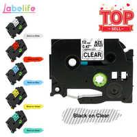 Labelife tze231 tape 1pcs Compatible Brother PTouch for PT-D210 Label Printer 12mm TZe 231 431 TZe TZ231 TZe-231 Label Maker