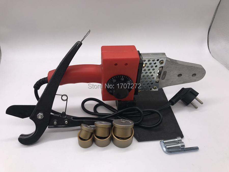 Temperature Controled PPR  Welding Machine, Plastic Welder AC 220V 600W 20-32mm  For Weld Plastic Pipes
