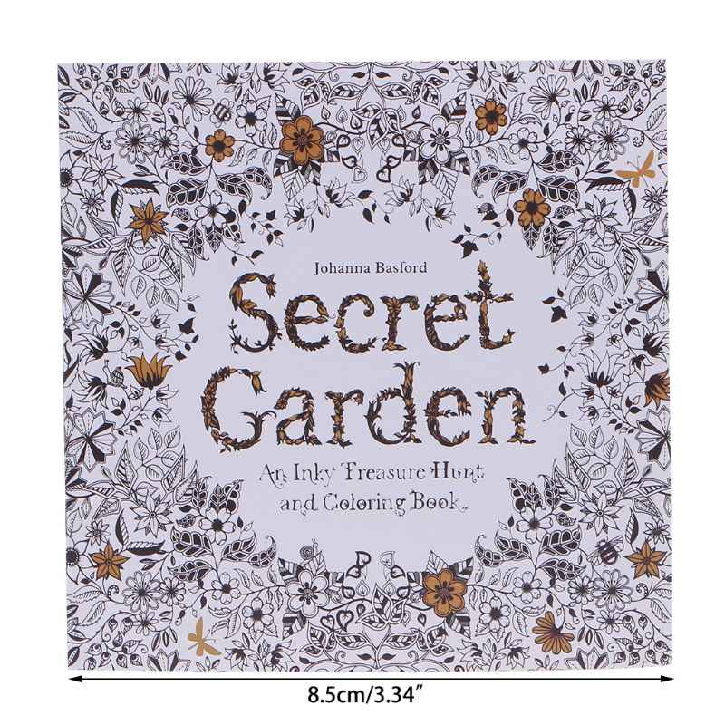 - New An Inky Treasure Hunt And Coloring Book By Johanna Basford-  AliExpress