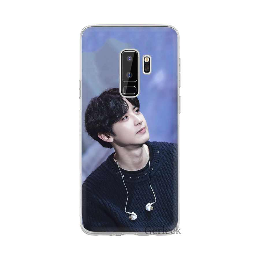 Case for Samsung Galaxy J1 J2 J7 J5 J6 J3 Prime Mobile Phone Hard Cover Protection EXO Chan Yeol Handsome