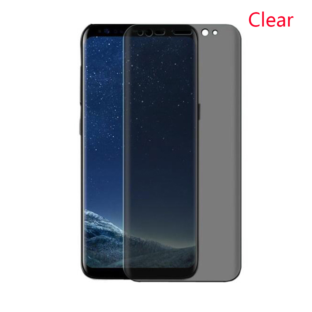 25 PCS 3D Curved Privacy Full Tempered Glass For Samsung Galaxy Note 9 8 S8 S9 S10 Plus S10 Anti Peeping Screen Protector Film in Phone Screen Protectors from Cellphones Telecommunications