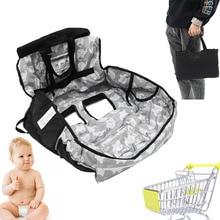 Защитные Матрасы для покупок, универсальная детская подушка, чехол для стула С Рисунком Слона, полиэстер, персиковая кожа