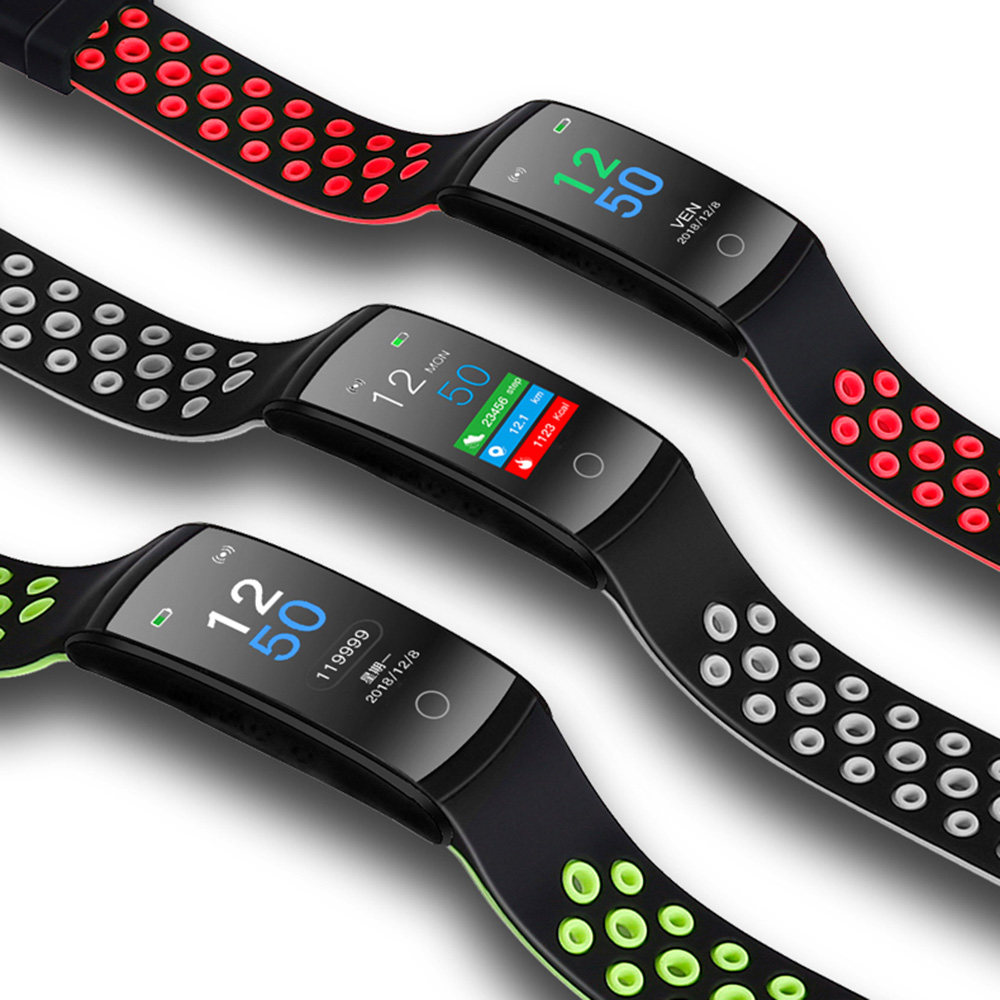 monitor de monitoramento de freqüência cardíaca relógio inteligente