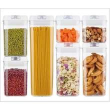 7 шт/компл pp уплотнения бутылки для хранения Еда коробка прозрачный