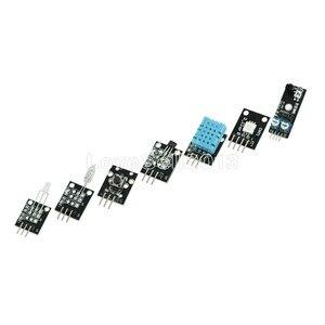 Image 2 - 45 في 1 أجهزة الاستشعار وحدات كاتب عدة لاردوينو UNO R3 ميجا 2560 نانو أفضل من 37in1 مجموعة أجهزة استشعار 37 في 1 مجموعة أجهزة استشعار لتقوم بها بنفسك عدة