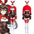 Genshin ударный Янтарный костюм для косплея комбинезон наряды Хэллоуин Карнавальный Костюм
