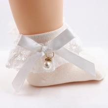 Spitze Rüschen Prinzessin Bögen Socken Kinder Knöchel Kurze Socke Weiß Rosa Grau Schwarz Baby Mädchen Kinder Kleinkind Frühling Sommer Herbst