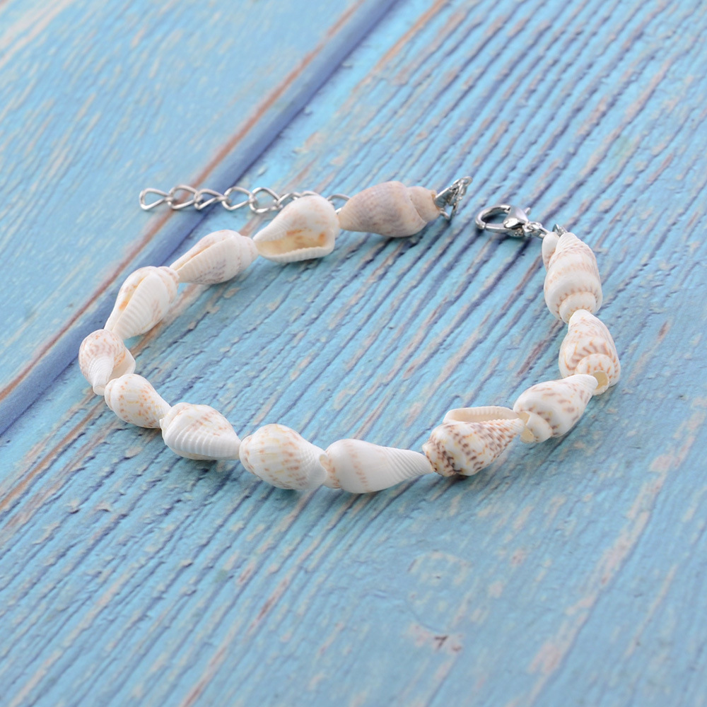 2020 new spring&summer shell Anklets for Women Bohemian Beach  shell anklets Jewelry ankle strap Accessories wholesale 4