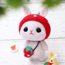 Toy Doll Needle-Felting-Kit Non-Finished-Poked-Set KAOBUY Wool Lovely with Instructions