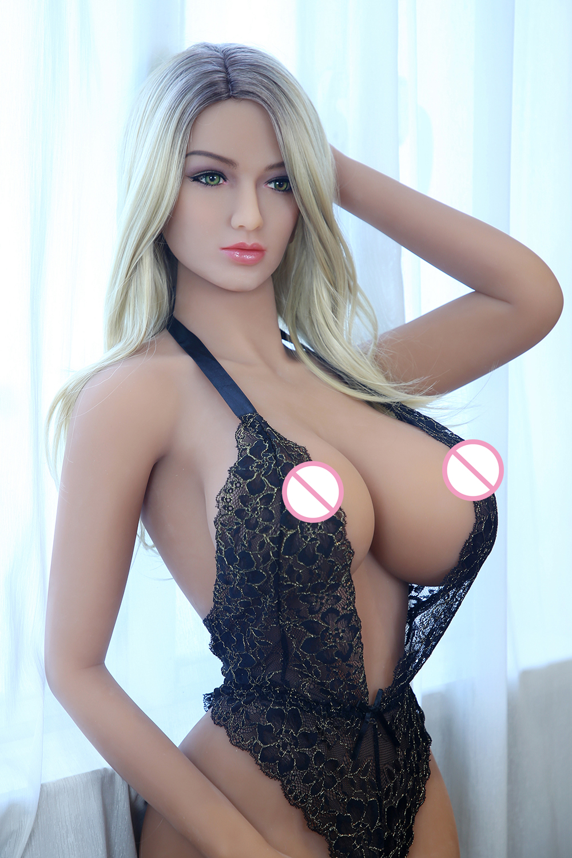 H481d9113b4a04287a31fd8d2d199f4fba AYIREN-muñecas sexuales de silicona para hombres, Juguetes sexuales de 165cm, grandes pechos, Vagina, Oral, Anal, rubia, Europa