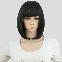 Синтетические волосы hairjoy женские короткие прямые парик из
