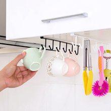 Кухонный подвесной стеллаж для хранения крюк органайзер шкаф