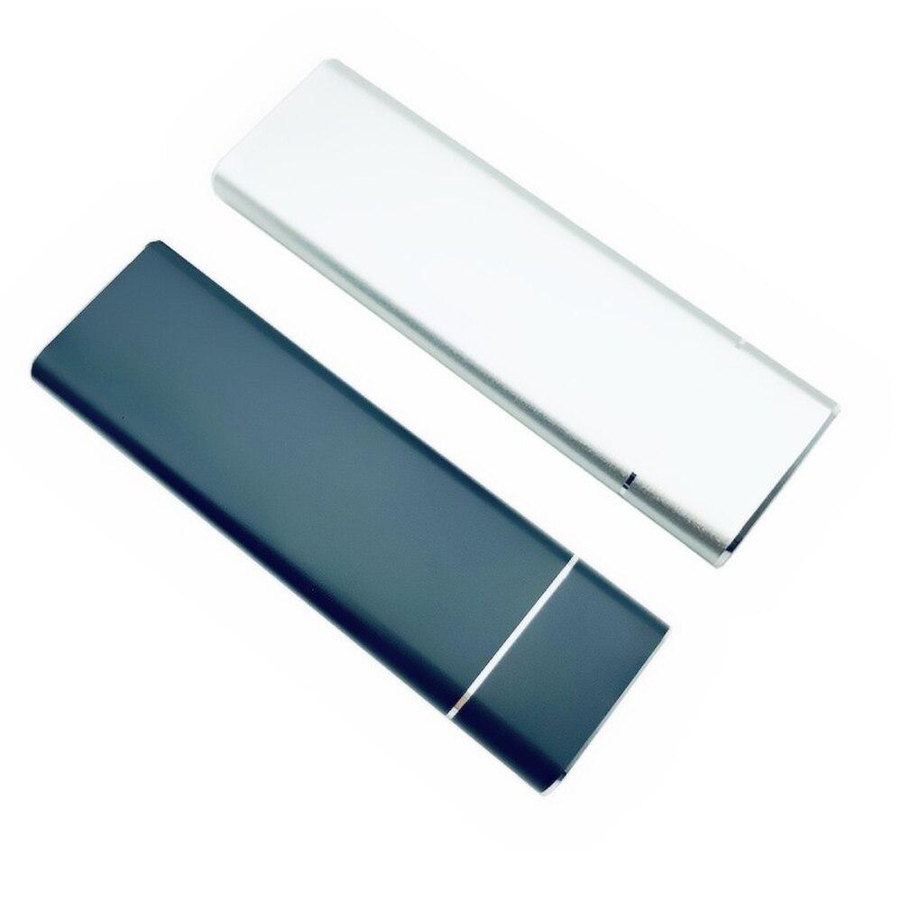 Adaptador de placa de disco rígido, usb 3.1 para m.2 ngff ssd hdd, capa com cabo tipo c para 2230/2242/2260/2280 m2 sata ssd case