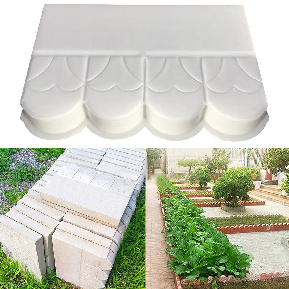 Garden Pool Brick Cement Mold Pavement Fence Cement Stone Concrete Mold Flower Pool Fish Pond Courtyard Garden Decoration