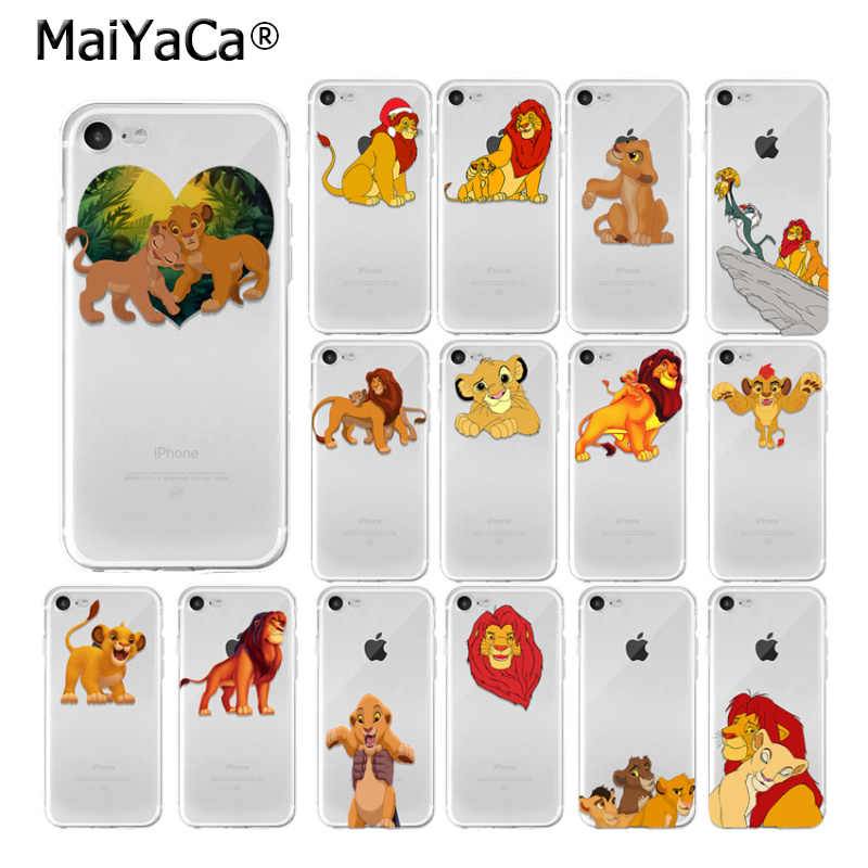 Maiyaca The Lion King Foto Kustom Lembut Ponsel Case untuk Apple Iphone 8 7 6 6S Plus X XS MAX 5 5S SE XR Cover