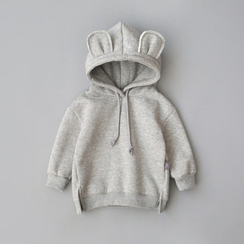 2019 New  Spring Autumn Baby Boys Girls Clothes Cotton Hooded Sweatshirt Children's Kids Casual Sportswear Infant Clothing 4