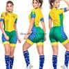 Roupa de ciclismo feminina manga curta, equipamento de equipe corporal sexy de tri skinsuit, roupas de ciclismo personalizadas, triathlon, 2020 24