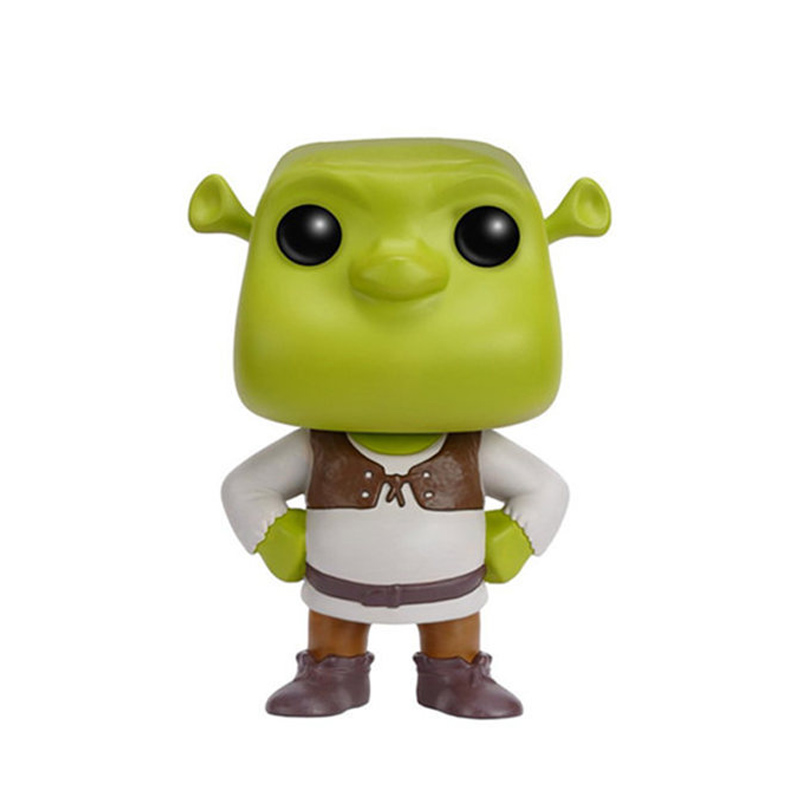 10CM POP oyuncaklar yeşil canavarlar Shrek aksiyon figürleri vinil sevimli elfler koleksiyon heykelcik modelleri çocuk Boys için çocuk hediyeler