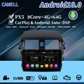 Автомобильный dvd-плеер cawell Android 10, Wi-Fi, bluetooth, carplay, PX5, головное устройство, ОЗУ 4 Гб, ПЗУ 64 ГБ, DSP DAB для corolla, GPS-навигация