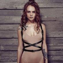 Belts For Women Harness Lingerie Jartiyer Sexy The Shoulder Belt porte jarretelle Pastel Goth Intimo Erotico Suspender Rave