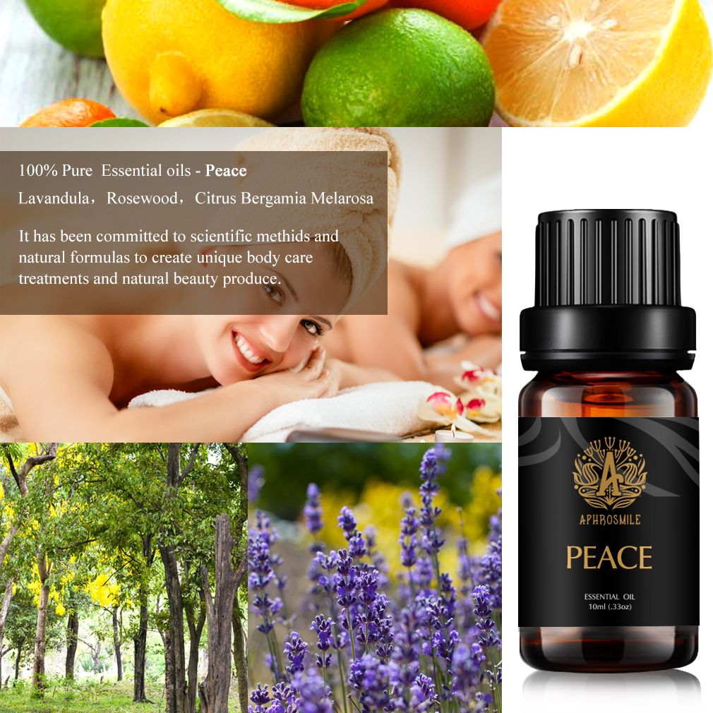 100% Pure Natural Organic, Best Grade Essential Oil, Promote Peaceful Sleep, Relaxation, Tension Relief STRESS RELIEF Essential