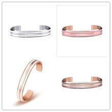 New 6Color luxury design European stainless steel bracelet and bracelet Fit DW Men's Woman couple bracelet Christmas gifts