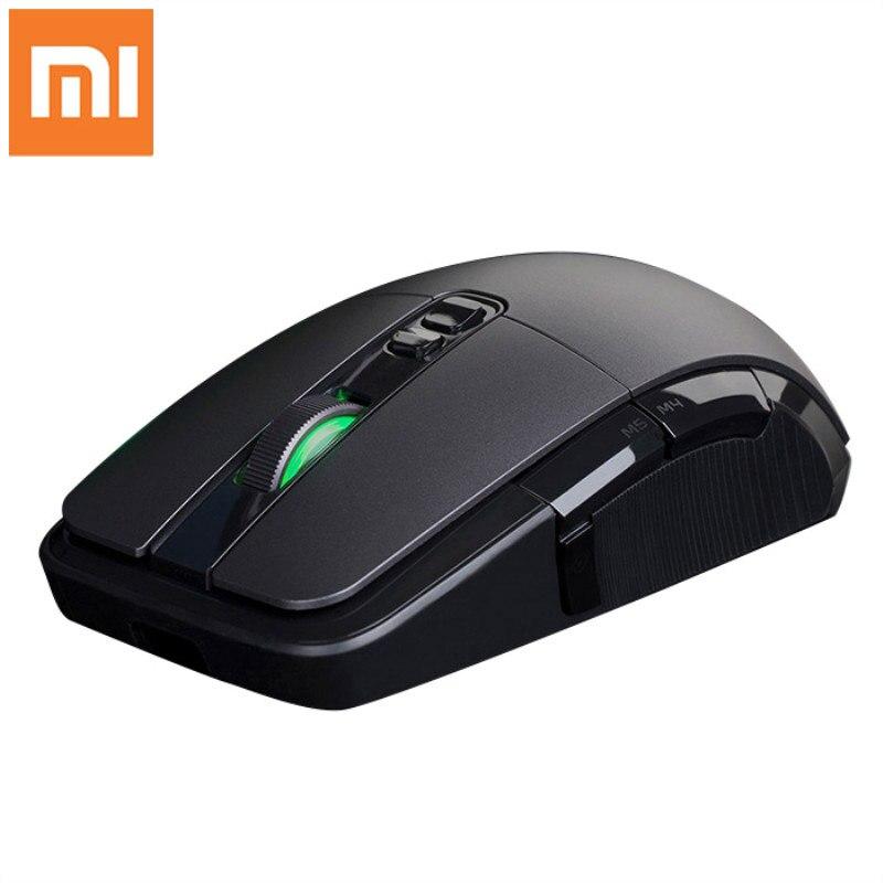 Оригинальная Беспроводная игровая мышь Xiaomi 7200 точек/дюйм RGB с подсветкой игровая оптическая перезаряжаемая 32 битная компьютерная мышь USB 2,4 ГГц|Мыши|   | АлиЭкспресс