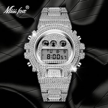 MISSFOX Sport Men Watches G Style Led Digital Electronics  Analog Men's Quartz Wristwatches 3atm Waterproof relogio masculino цена 2017