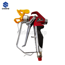 CHARHS  Airless Spray Gun similar of 538020 2 Finger Trigger Included. 1 Tip Guard. 517 airless tips Built-In airless gun Filter