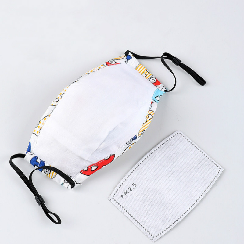 Image 5 - PM2.5 Child Kids Mask Filter Paper Activated Carbon Respirator 