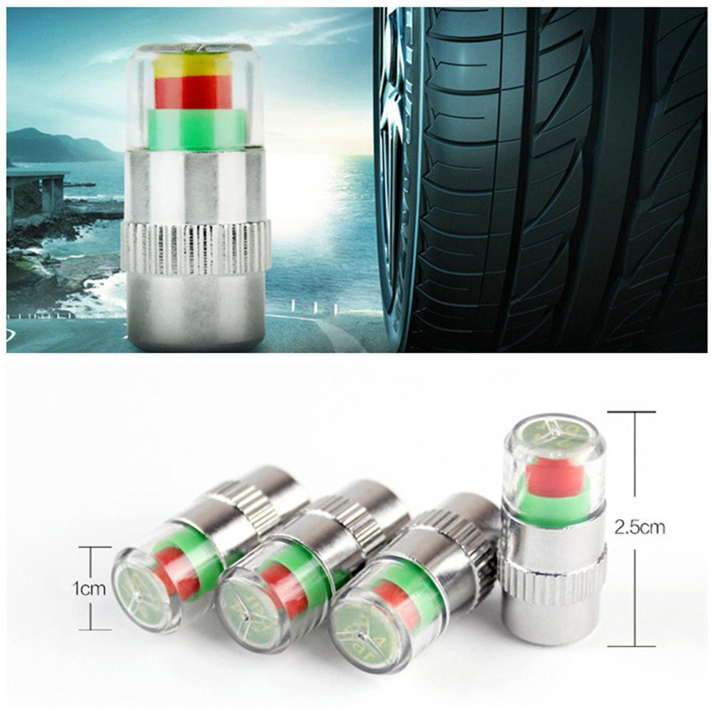 Adeeing 4Pcs 2 4 Bar Car Tire Pressure Monitoring Valve Cap Sensor Indicator 3 Color Eye Alert monitoring tire pressure r20 in Tire Accessories from Automobiles Motorcycles
