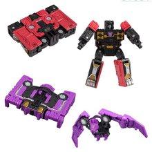 Tamanho Mini Robot War For Cybertron Cerco Rumble + Ratbat Direct-Hit + Power Punch Brinquedos Clássicos Para O Menino figura de ação Com Caixa