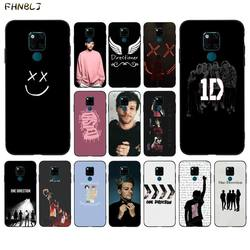FHNBLJ One Direction Louis Tomlinson TPU black Phone Case Cover Hull for huawei mate 8 S 9 30 10 lite 10pro 20 X 20pro 20lite