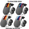 M Performance Car phone holder sticker for BMW E34 E36 E39 E46 E53 E60 E70 E71 E85 E87 E90 E91 E92 E83 F10 F20 F21 F30 2