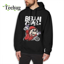 New Casual Bella Ciao Bros La Casa De Hoodies Geek Custom For Boy