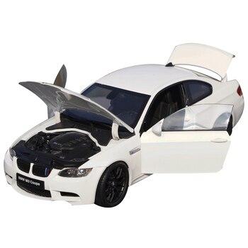 Originele Hoge Kwaliteit Wit/Zwart 118 Kyosho Bmw M3 E92 Coupe Diecast Sport Auto Model Voor Gift, Collectie