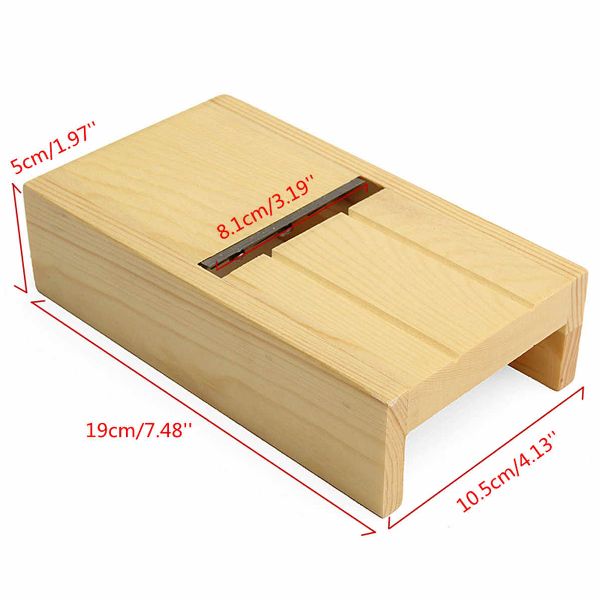 New Wooden Beveler Planer Sharped Blade Handmade Soap Candle Loaf Mold Cutter Craft Making Tool Soap Kits Cutting Tools