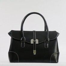 Leather Women Bag\Handbag Fashion Retro Business Tote Designer ladies Shoulder Bag Female Bags Ladies Clutch~Quality Guaranteed