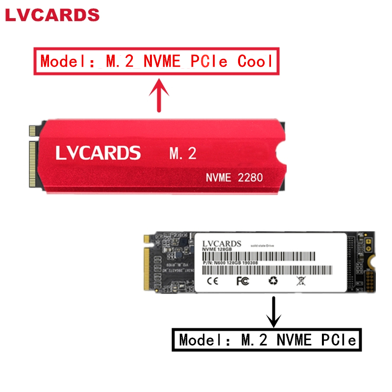 LVcards M2 SSD 128GB 256GB 512g 1TB M.2 PCIe NVME 2280 Internal Hard Disk Hhd Solid State Drive SATA3.0 NGFF For Laptop Desktop2
