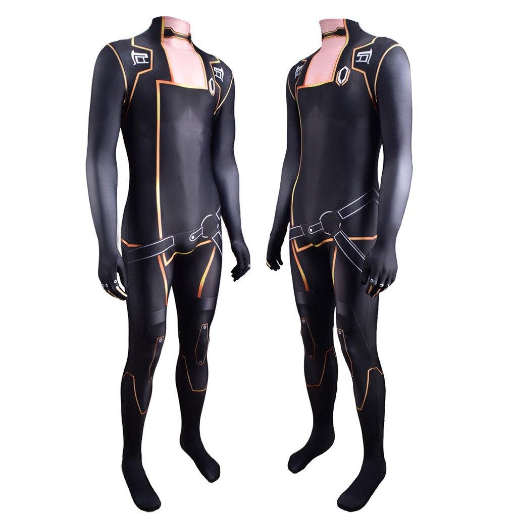 Efeito de massa traje cosplay trajes de