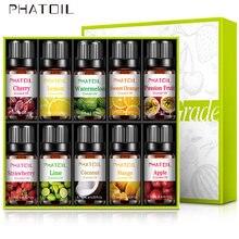 10 шт фрукты ароматические эфирные масла подарочный набор клубника
