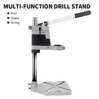 Aluminum Bench Drill Stand Power Tools Accessories DIY Woodworking Single head Electric Drill Holder Power Factory Price